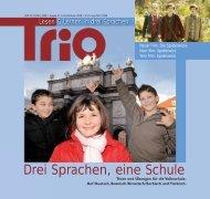 Trio 5 auf Deutsch - Schule mehrsprachig