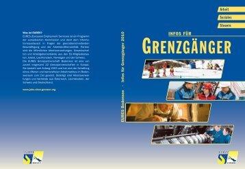 Arbeit, Soziales und Steuern - EURES Bodensee