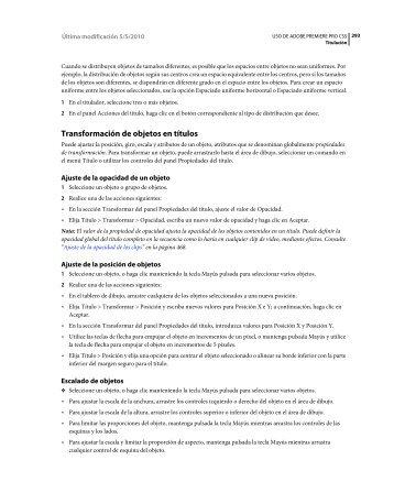 Descargar Adobe Premiere CS5 3 - Mundo Manuales