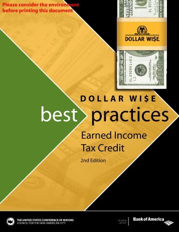 DOLLAR WI$E || Best Practices | Earned Income Tax Credit - U.S. ...