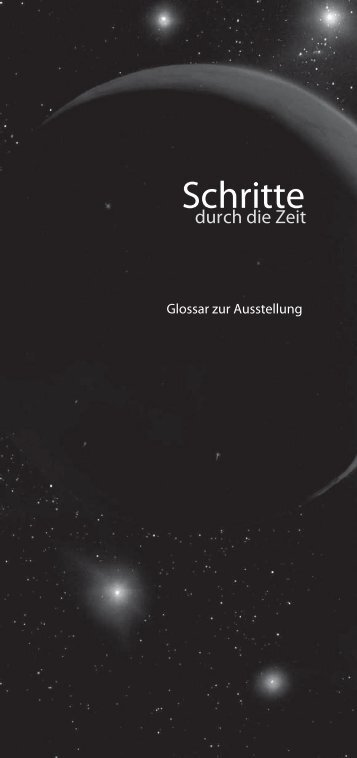 Glossar - Stiftung Drittes Millennium