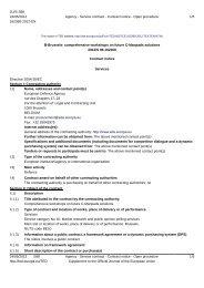 12.CAP.OP.276 - Contract Notice - European Defence Agency ...