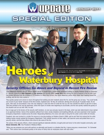 Special Edition - Waterbury Hospital