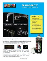 Sphere-Brite reflective paint - US Reflector