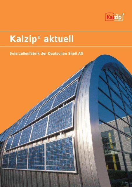 Innovative Gebäudehüllen - Kalzip