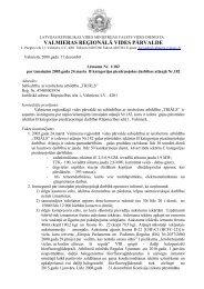 valmieras reģionālā vides pārvalde - Vides pārraudzības valsts birojs