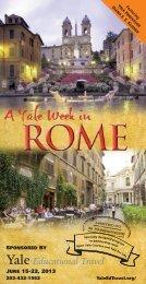 ROME - Yale University