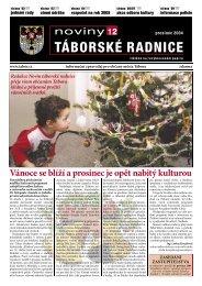 Noviny Táborské Radnice 2004