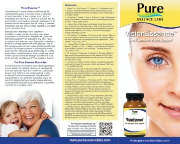 VisionEssence™ - Pure Essence Labs