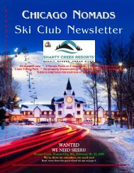 February 2012 Newsletter - Chicago Nomads Ski Club