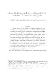 Wage rigidity and employment adjustment at the firm level: Evidence ...