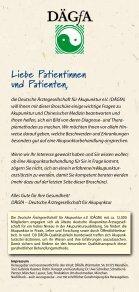Akupunktur und chinesische Heilkunst - bei der DÄGfA - Seite 2
