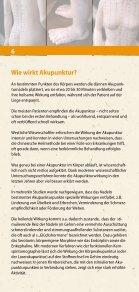 Akupunktur und chinesische Heilkunst - bei der DÄGfA - Seite 6