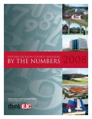 Eastern Jackson County by the Numbers 2008 - Lee's Summit ...