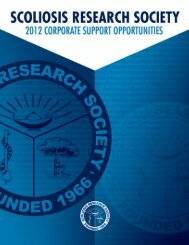 Untitled - Scoliosis Research Society