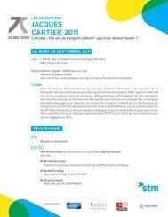 JACQUES CARTIER 2011 - aqtim