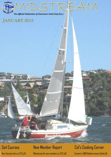 January - Claremont Yacht Club