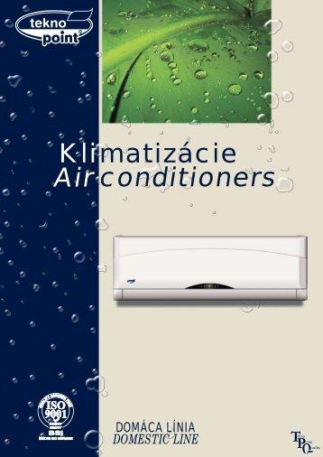 Katalóg klimatizácií Teknopoint 2009.pdf - KLIMA s.r.o.