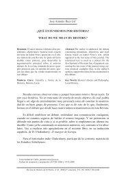 José Antonio Ruiz Gil* ¿QUÉ ENTENDEMOS POR HISTORIA ...