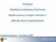 Colloque Mutilations Génitales Féminines ... - Intact-network.net