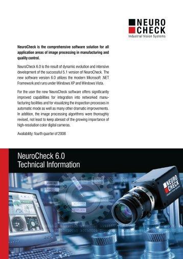 NeuroCheck 6.0 Technical Information