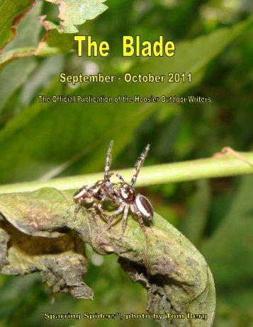 September/October 2011 newsletter - Hoosier Outdoor Writers