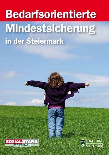 Bedarfsorientierte Mindestsicherung - Sozialserver Land Steiermark