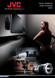 Home Theatre & Audio Products 2010 - JVC