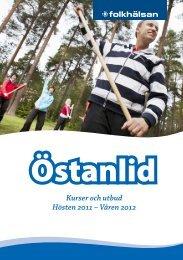 Kurser och utbud Hösten 2011 – Våren 2012 - Folkhälsan