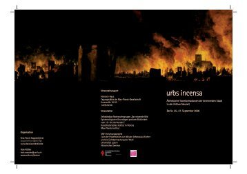 urbs incensa - Kunsthistorisches Institut in Florenz