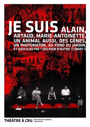 ARTAUD, MARIE-ANTOINETTE, - Theatre-contemporain.net