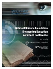 2012 Conference Program - Virginia Tech Engineering ...