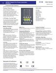 DIESEL Engine Fire Pump Controllers Features - Page 2