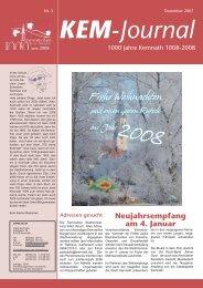 Ausgabe 12/2007 - Stadt  Kemnath