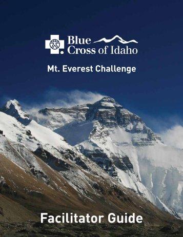 Mt. Everest Facilitator Guide - Blue Cross of Idaho