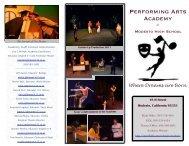 PAA Brochure Final 2011-2012 - Modesto City Schools