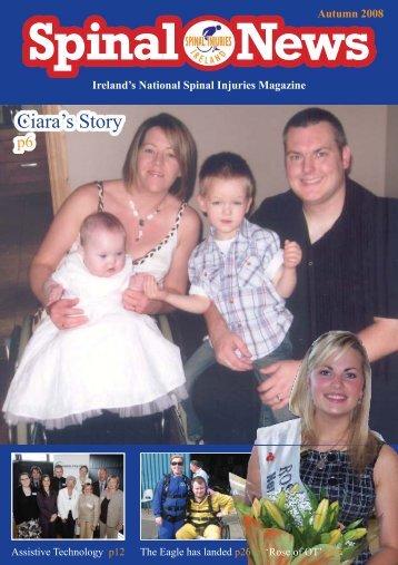 Ciara's Story - Spinal Injuries Ireland