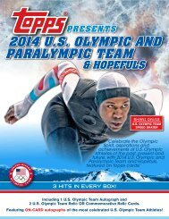 2014 U.S. OLYMPIC AND PARALYMPIC TEAM - Magazine Exchange