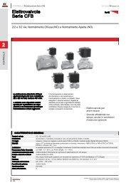 2 Elettrovalvole Serie CFB - Centro Aria Compressa