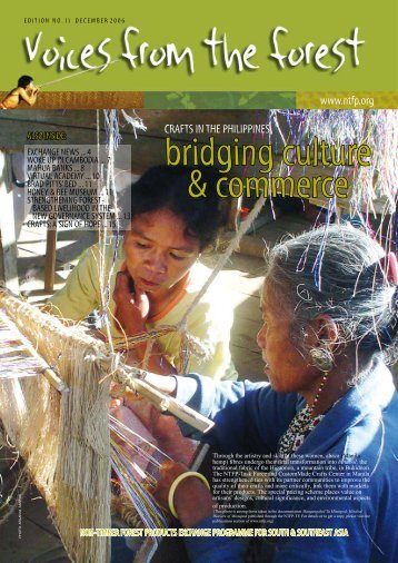 Edition No. 11 - Non-Timber Forest Products Exchange Programme