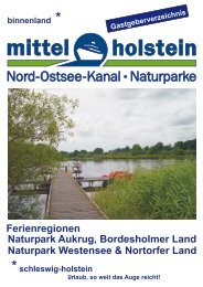Seite 1 GGV 2011 NOK Titelblatt .cdr - Tourist-Information Nord ...