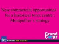 Montpellier town centre - Reed Midem