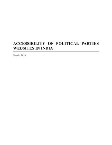 accessibility-of-political-parties-websites