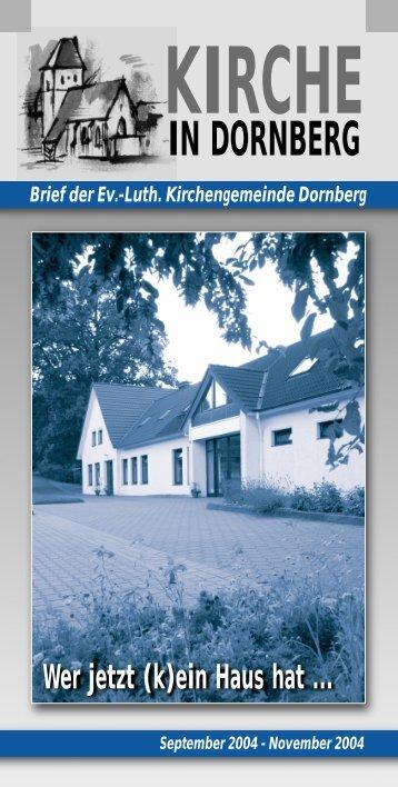 Aus der Gemeinde - Peterskirche in Dornberg