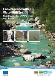 Convergence with EU Water Policies - European Commission ...