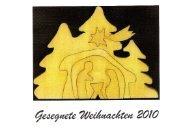 Weihnachtskarte 2010 - St. Vicelin