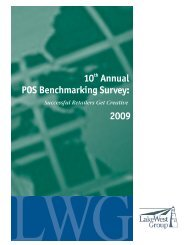 LakeWest Group's 10th Annual POS Benchmarking Survey - Epicor