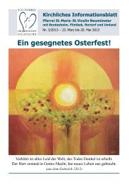 Kirchliches Informationsblatt - St. Vicelin