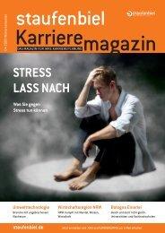 Ausgabe 4/2009 - Staufenbiel Karrieremagazin