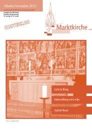 November - Evangelisch-lutherischer Stadtkirchenverband Hannover